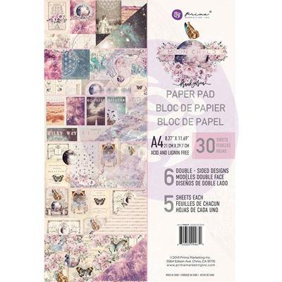 Moon Child design papir fra Prima Marketing til Mix Media, scrapbooking og kort - A4 994679