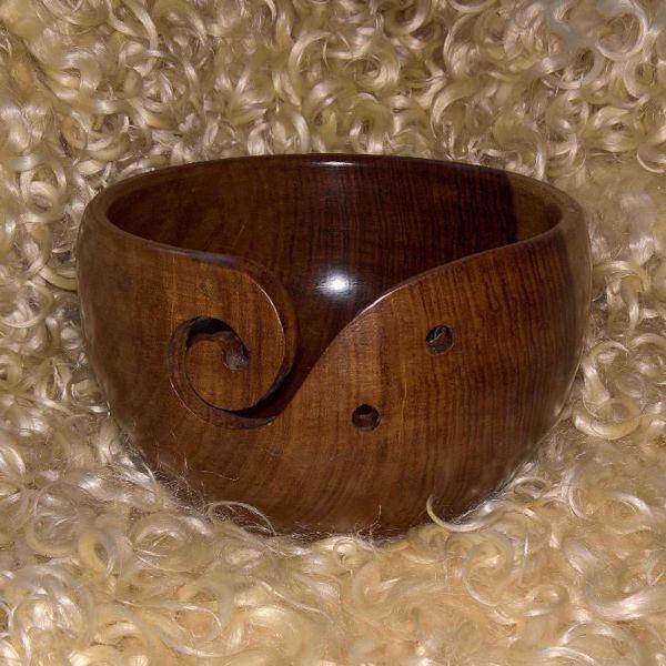 Garn skål - Garn bowle til garnnøgler, som ikke må trille rundt på gulvet