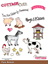 Cottage Cutz Bondegårds dyr - Farm Animals standsejern til scrapbooking - CCS-014