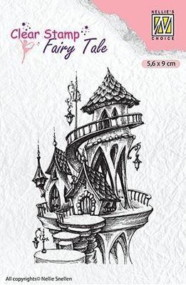 Fairy Tale, Eventyr Hus silikone stempel fra Nellie Snellen - FTCS010