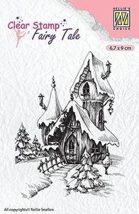 Fairy Tale, Eventyr Hus silikone stempel fra Nellie Snellen - FTCS011