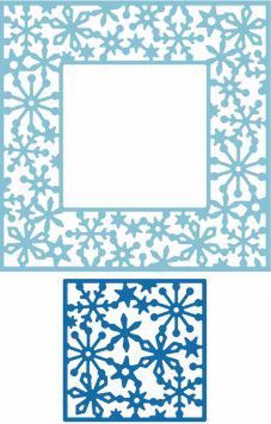 Cheery Lynn Designs Snowflake Wonder Doily standsejern til scrapbooking og kort - DL 287