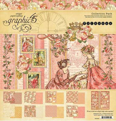 Papir kollektion 12x12 fra Graphic 45 - Princess