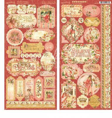 Stickers klistermærker fra Graphic 45 - Princess