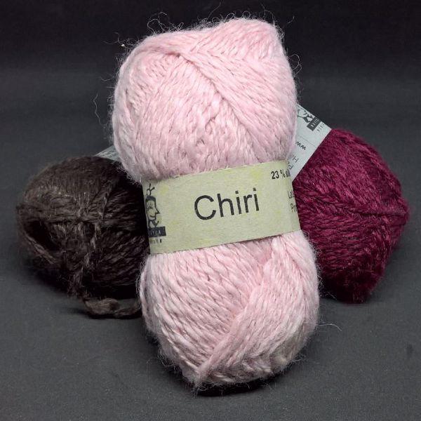 Lækker blød Chiri af silke og alpaka fra Butik Strik