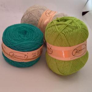 Kauni, strikke uldgarn fra Estland