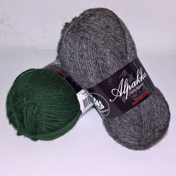 4-trådet Alpakka strikkegarn fra Mayflower