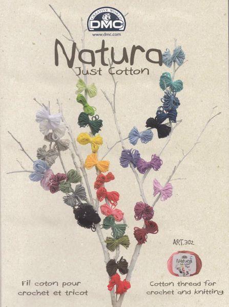 DMC Natura Just Cotton - lækkert miljøvenligt bomuldsgarn fra DMC