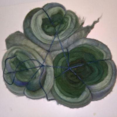 Håndmalet Finuld tops - til spinding af lækre bløde og luftige garner - fra Ægbækgaard Uldtrolden