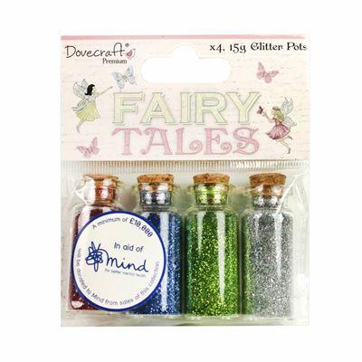 Fairy Dust, alfe støv  til scrapbooking og kort - DCTOP139 fra Dovecraft
