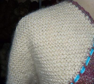 Wensleydale Spindefibre - Stina's trøje
