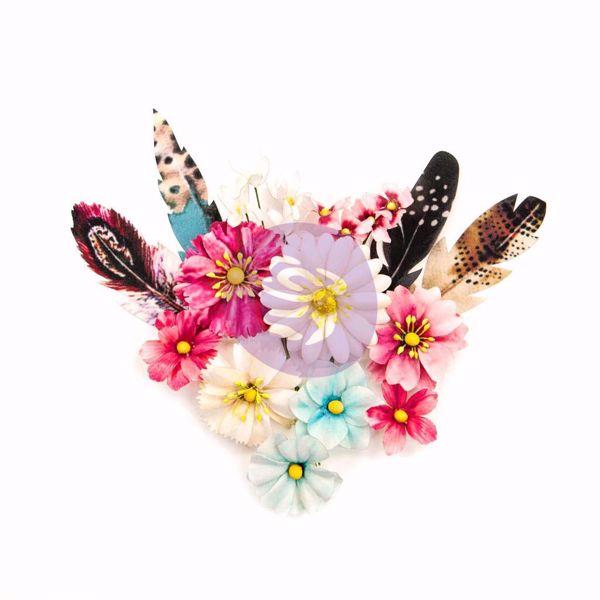 Midnight Garden design blomster fra Prima Marketing til Mix Media, scrapbooking og kort -  637866 Dark Romance