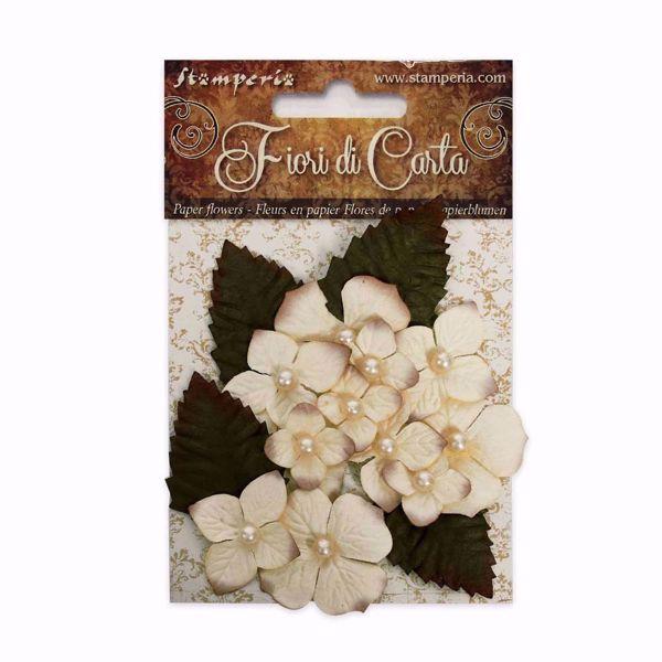 Ivory blomster fra Stamperia til Mix Media, scrapbooking og kort -  SF140