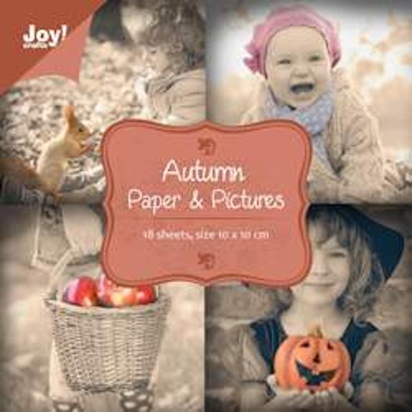 Lille mini blok -Autumn Paper - fra Joy Design til scrapbooking og kort