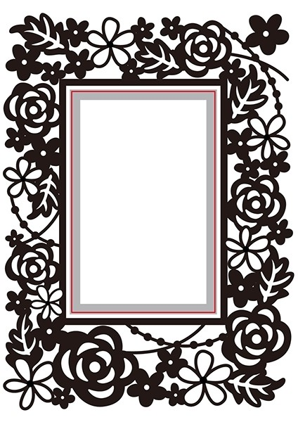 Embossing & diecut folder fra Hobby Solution HSEFD004 til scrapbooking og kort
