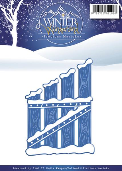 Precious Marieke Winter Wonderland, Havelåge - PW10050 standsejern til scrapbooking og kort