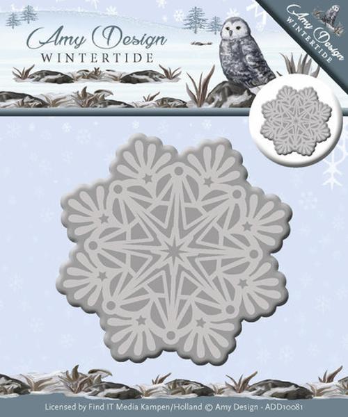 Amy Design Wintertide - Snefnug doily - ADD10081 standsejern til scrapbooking og kort