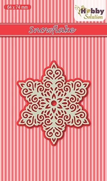 Snefnug - Snowflake Die fra Nellie Snellen - Hobby Solution - HSDJ016