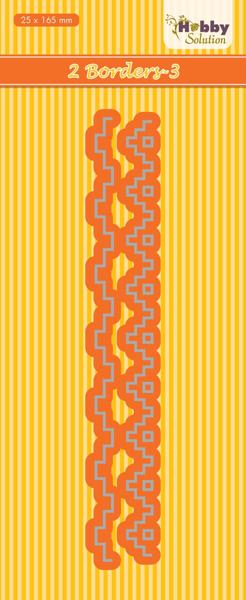 2 Borders-3 Die fra Nellie Snellen - Hobby Solution - HSDJ042
