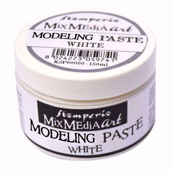 Stamperia  Modeling  Paste  Hvid - K3P38W