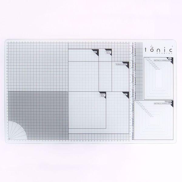 Tonic Studios glass cutting mat 60x36,5cm A3 - 352E