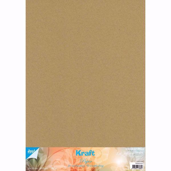 "Kraft karton - 50 x 35 cm"" 10 stk - 300 gram"
