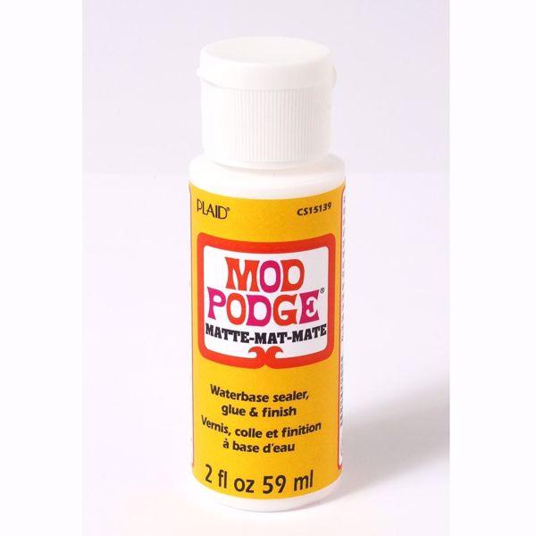 Mod Podge Matte - Mat lim, forsegler og lakering fra Plaid Crafts - 59 ml