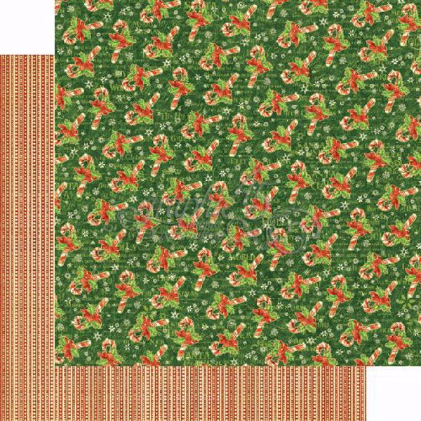 Sct. Nicholas - Candy Cane Wishes 12x12 karton - 4501405 fra Graphic 45