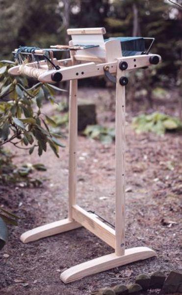 Kromski Presto Stativ - 40 cm - Stil væven i forskellige vinkler