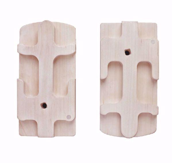 Dobbelt kamholder sæt til Kromski Presto Væv - så du kan væve med 2 kamme på en gang - til dobbelt vævebredde