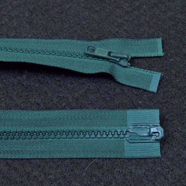 Delbare Lynlåse fra YKK - Plast 6 mm - Flaskegrøn