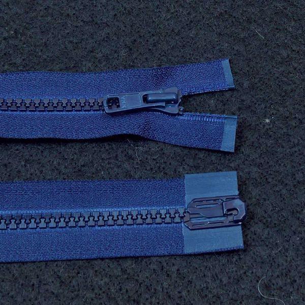 Delbare Lynlåse fra YKK - Plast 6 mm - Kongeblå