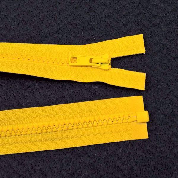 Delbare Lynlåse fra YKK - Plast 6 mm - Gul