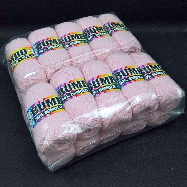 Pakkesalg 20 ngl Bumbo Mix  Garn - Rosa 24