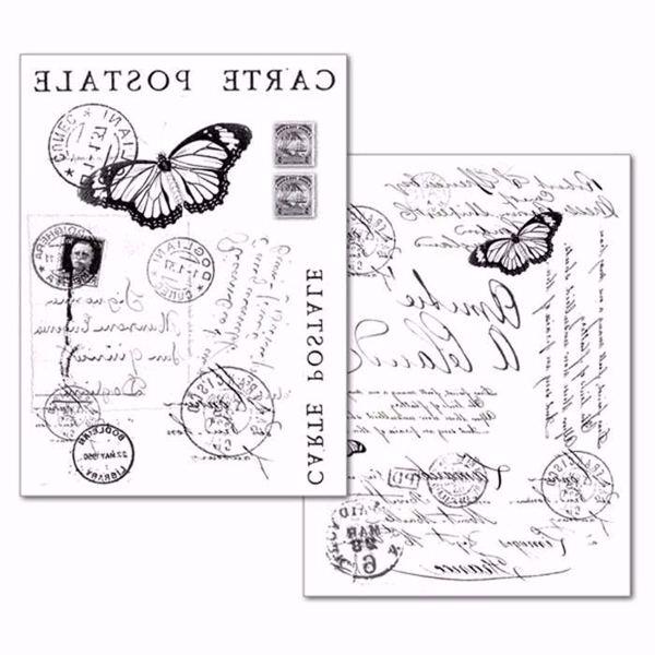 Stamperia Transfer Paper A4 Carte Postale (DFTR024)