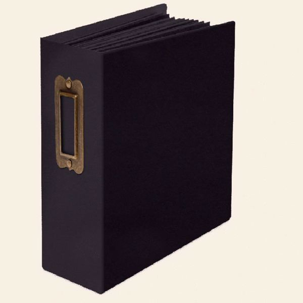 Tags og lomme Album med indhold fra Graphic 45 - Sort 4502023