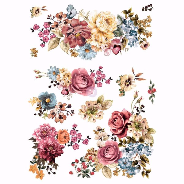 Re-design with Prima - Ruby Rose 63 x 75 cm Decor Transfer - 640286