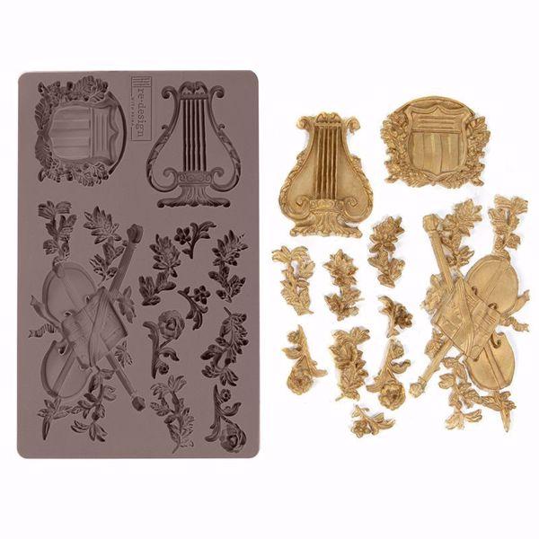Re-Design with Prima Musical Journey - Musik instrubenter - silikone Form - 636449
