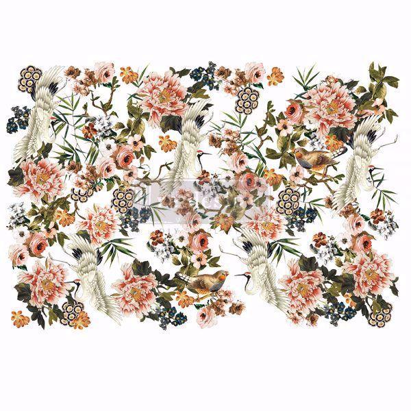 Re-design with Prima - Elegance & Flowers - 120 x 88 cm Decor Transfer - 647667