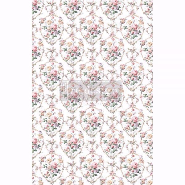 Re-design with Prima - Floral Court 60 x 88 cm Decor Transfer - 649920