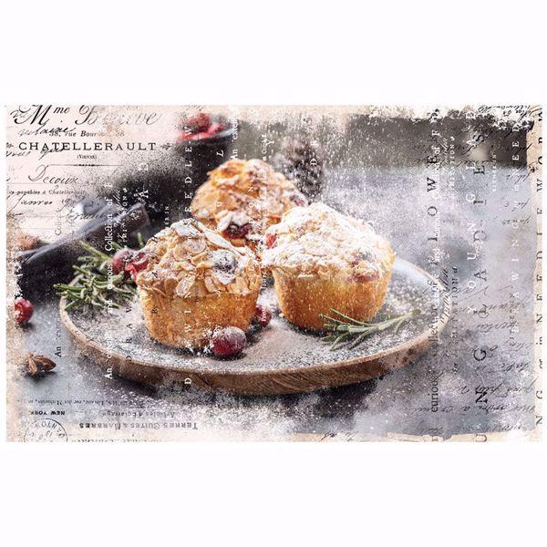 Découpage Décor Tissue Paper - Warm Desserts til decoupage scrapbooking og kort - 645342