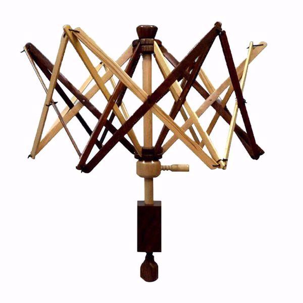 Garnvinge paraplymodel til ophaspning af garn - Bøg og Rosentræ fra Scheepjes