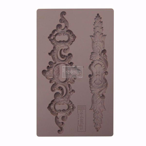 Re-Design with Prima Sicilian Plates silikone Form - Ornamenter - 641023