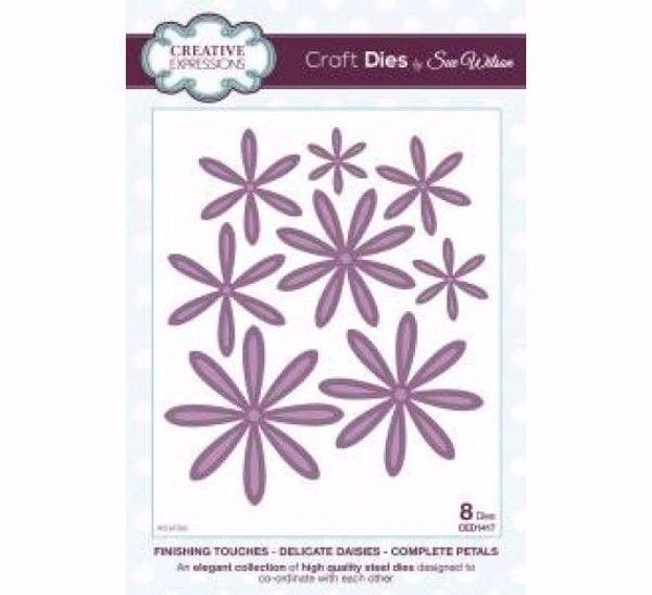 Finishing Touches Collection -Delicate Daisies - CED1417 fra Creative Expression