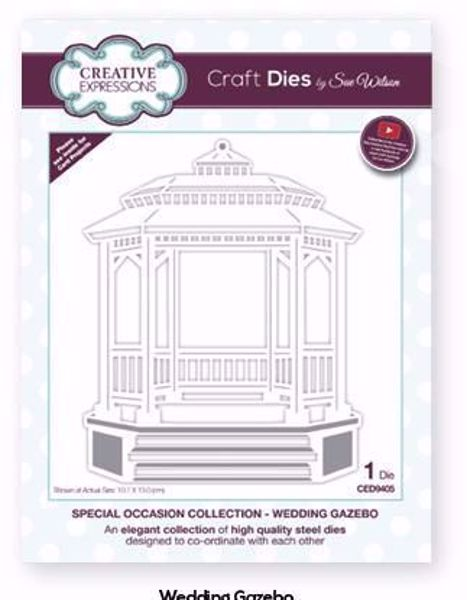 Special Occasion Collection - Wedding Gazebo - CED9405 fra Creative Expression