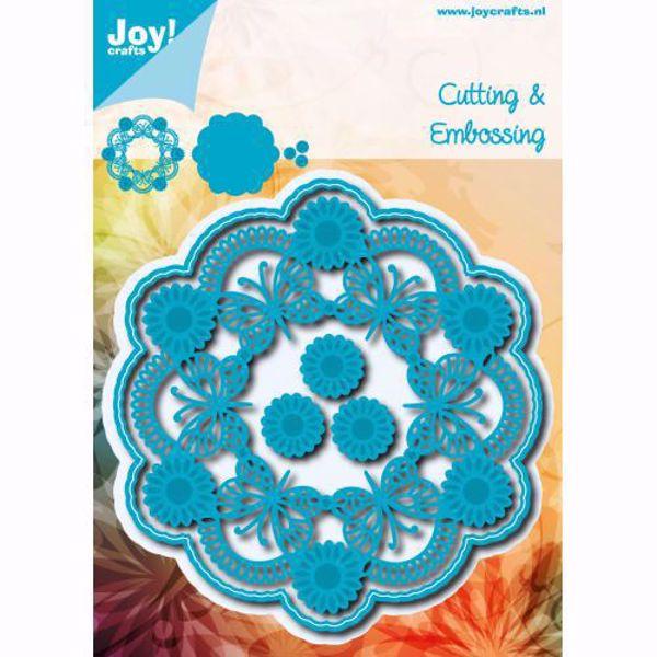 Flower Circle - die 6002/0783  standsejern til scrapbooking og kort fra Joy Crafts