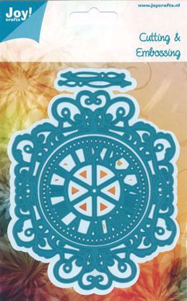 Ur - Clock - die 6002/0971 standsejern til scrapbooking og kort fra Joy Crafts