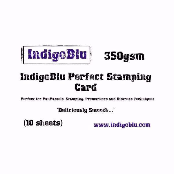 Perfect Stamping Card - kvalitetspapir fra IndigoBlu