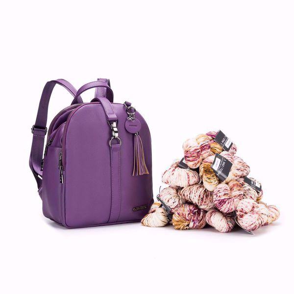 Jimmy Beans - Namaste Makers Mini Backpack - Mini Rygsæk - Vegan læder - Lavender