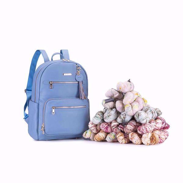Jimmy Beans - Namaste Makers Knittersi Backpack - Strikke Rygsæk - Vegan læder